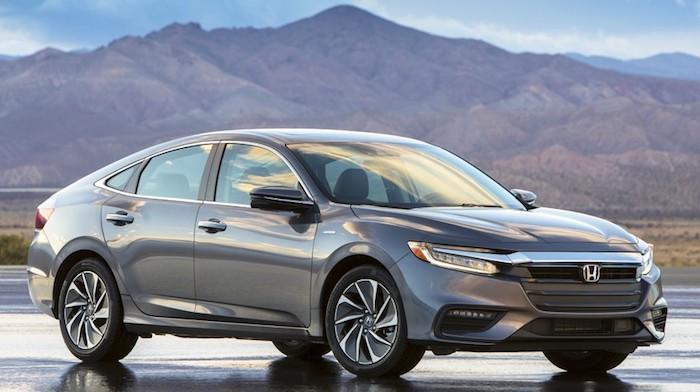 В Хонда поведали оновом седане Insight