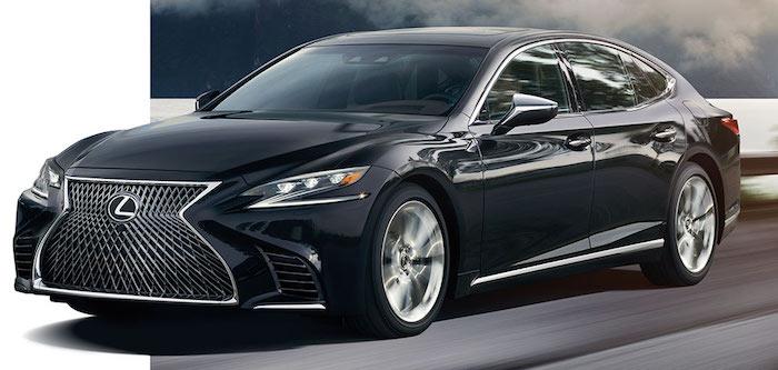 В России начались продажи нового Lexus LS