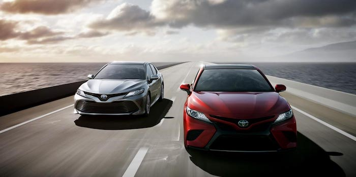Toyota Camry 2017 2018 1