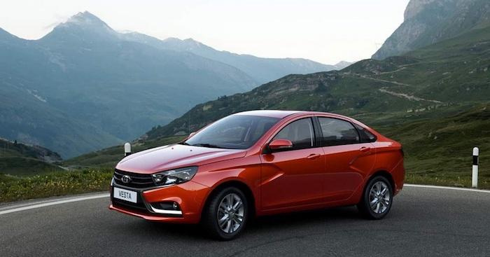 Лада  Vesta уступила звание самого известного  авто в Российской Федерации  Киа  Rio
