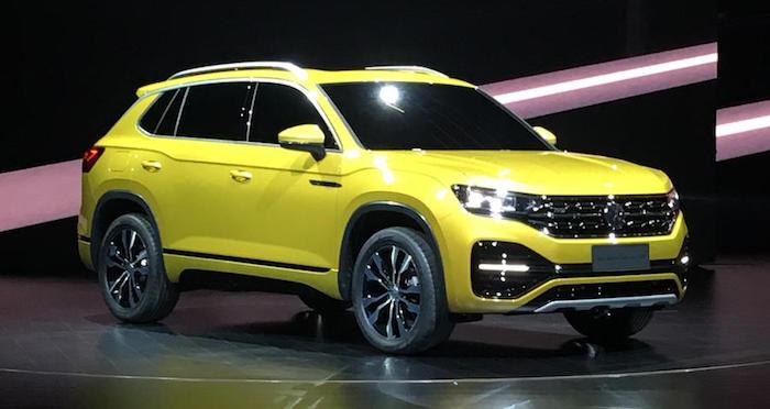 Volkswagen готовит новые кроссоверы для Китая