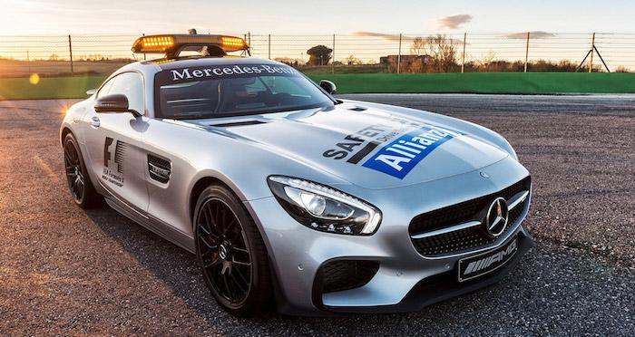 Новым автомобилем безопасности Формулы-1 стал суперкар Mercedes-AMGGT R