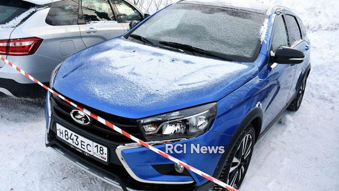 Кросс-седан Lada Vesta Rally Sprint проходит испытания в Тольятти