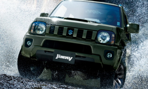 Сузуки прекращает производство джипа Jimny