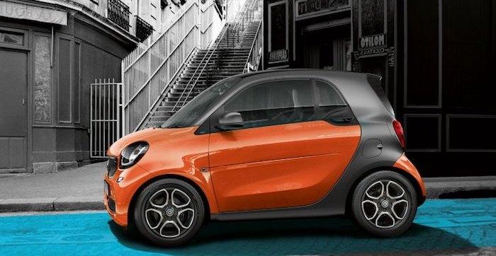 Smart откажется от автомобилей с ДВС с 2020 года