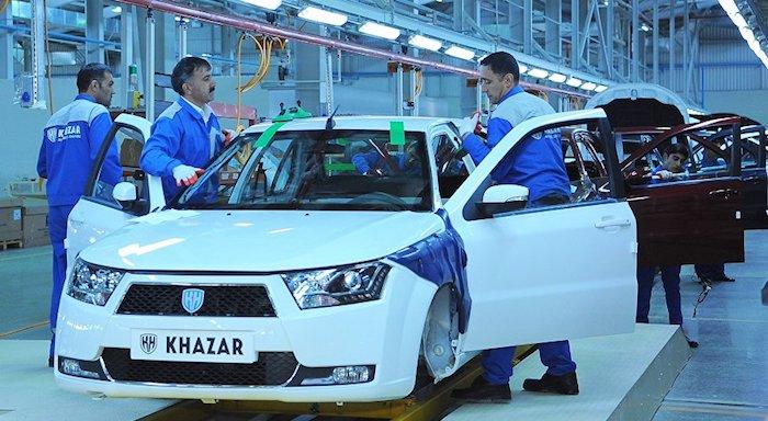 В Российскую Федерацию могут привезти седаны Khazar за 500 тыс. руб.