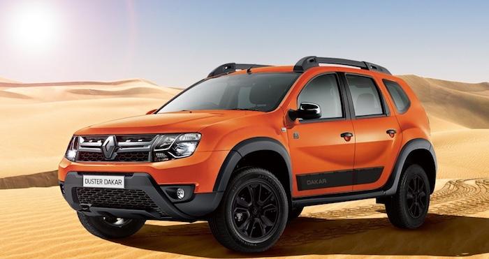 Рэно везёт в РФ обновленную спецверсию Рено Duster Dakar