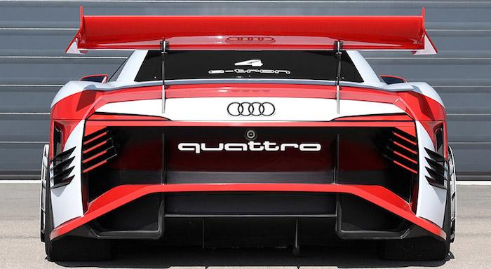 Ауди показала новый электрический спорткар e-tron Vision Gran Turismo