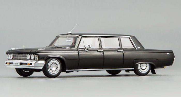 В Германии продают «Брежневский» лимузин ЗИЛ-114 за 1 млн евро