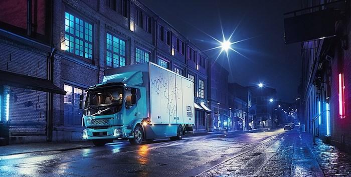 Компания Вольво выпустила свой 1-ый электрический грузовой автомобиль - FLElectric