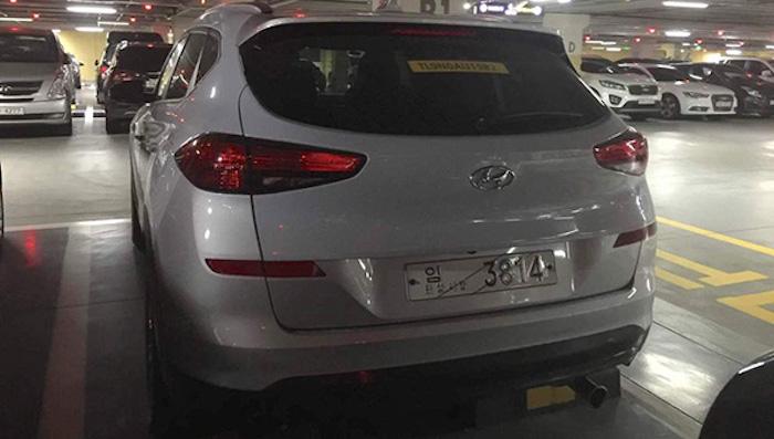 Новый Hyundai Tucson заметили вшаге отдилерского центра