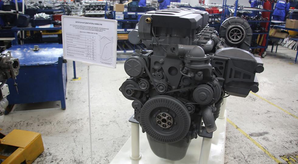 «КАМАЗ» запустил линию окраски моторов