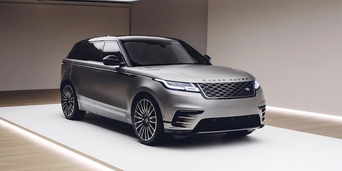 Дебютировал улучшенный Range Rover Velar 2019
