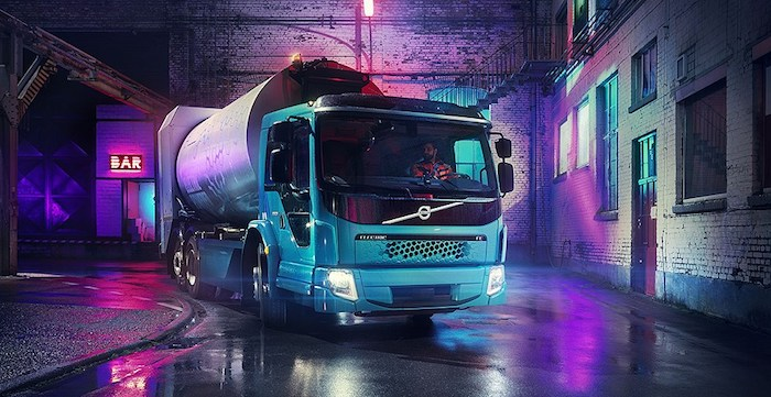 Volvo представила электрический грузовик FE Electric