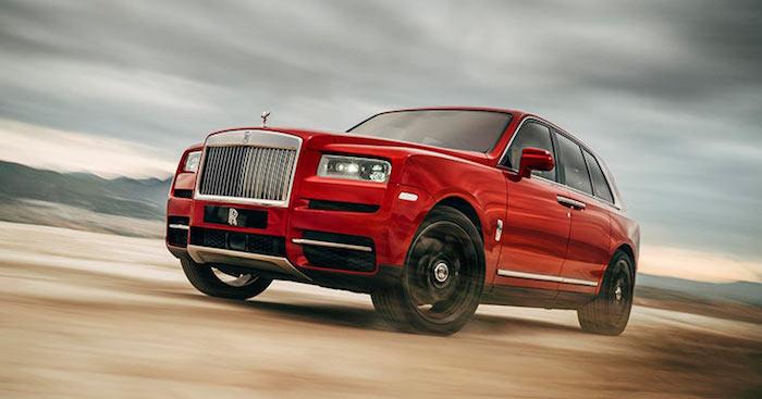 В России представили роскошный внедорожник Rolls-Royce Cullinan