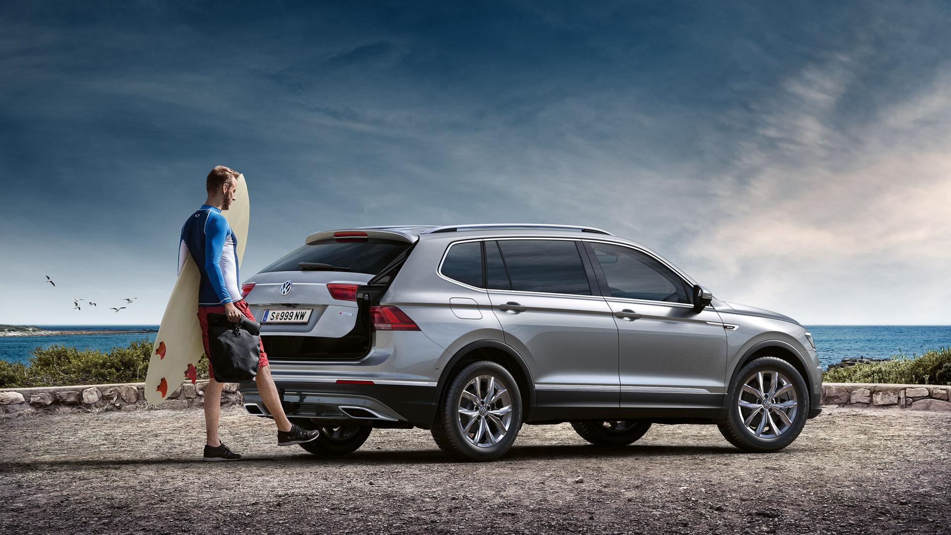 Volkswagen привезет в Россию новую версию Volkswagen Tiguan Allspace