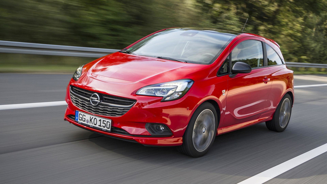 Электрифицированный Opel Corsa получил новое название