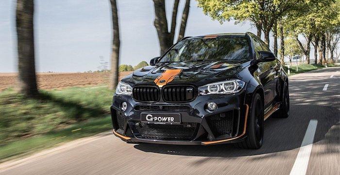 Тюнеры из G Power показали BMW X6 с мотором на 760 л.с