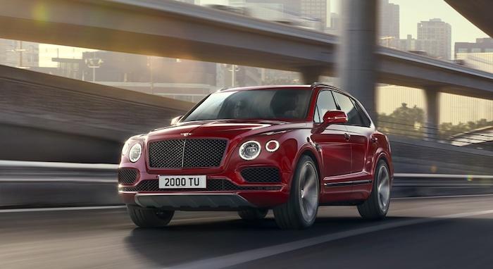 Bentley Bentayga V8 sales start Rus 2