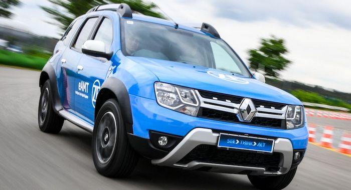 Немецкая компания ZF представила гибридный Renault Duster