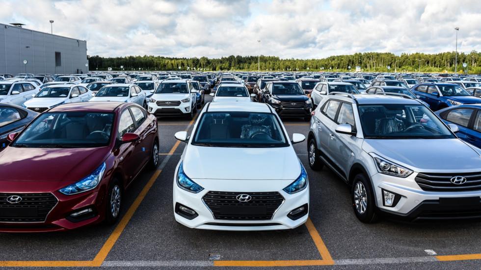 В России наблюдается спад роста продаж новых машин