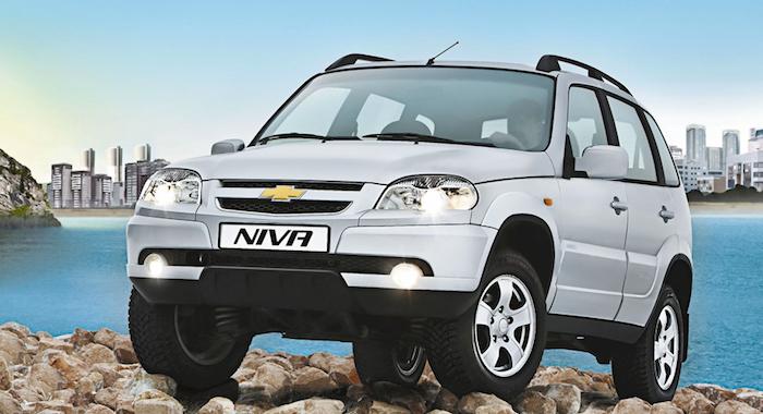 В России в июле изменились цены на Chevrolet Niva