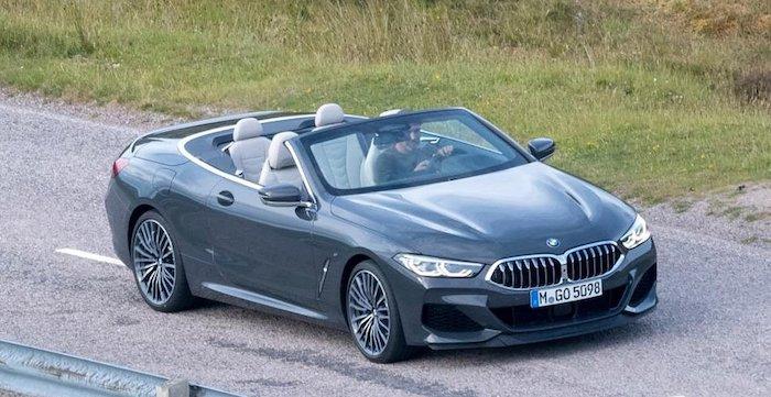 В Сети опубликовали фото нового кабриолета BMW 8-Series без камуфляжа