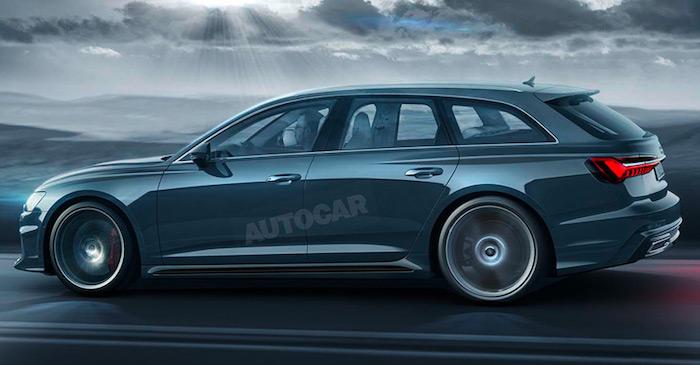 Audi RS6 новой генерации получит 600-сильный двигатель от Lamborghini