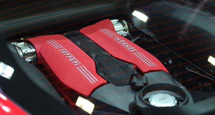Ferrari запатентовала 4-цилиндровый двигатель