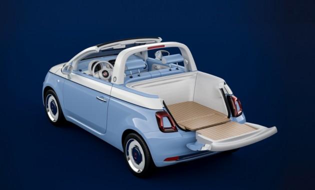 Крошечный Fiat 500 превратился в пикап