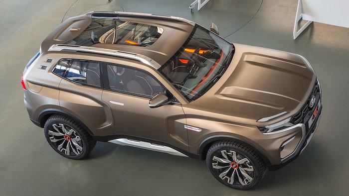 Lada представила концепт абсолютно новой «Нивы» Lada 4x4 Vision