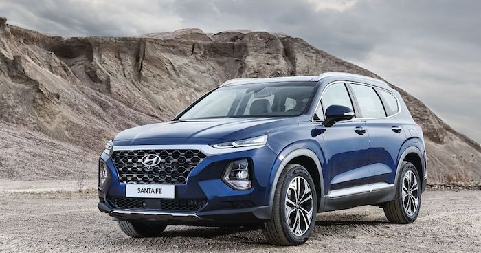 Стали известны рублевые цены на новый Hyundai Santa Fe