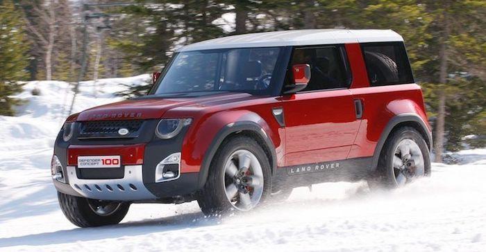Новый Land Rover Defender выйдет к 2020 году
