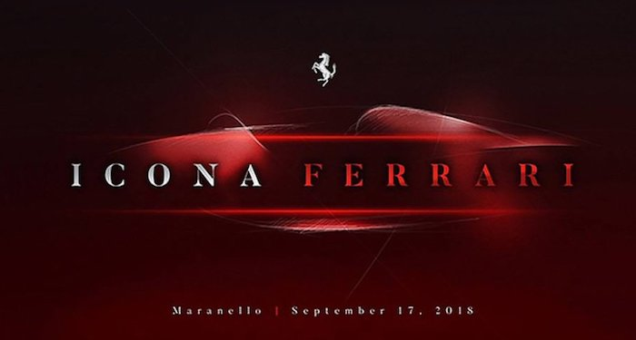 Новый суперкар Ferrari представят 17 сентября