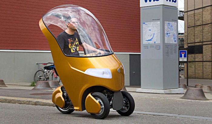 ВШвейцарии студенты разработали трехколесный Bicar
