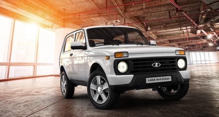 Lada 4x4 является самым распространенным SUV в России