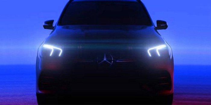 Mercedes-Benz представил тизер своего нового кроссовера GLE