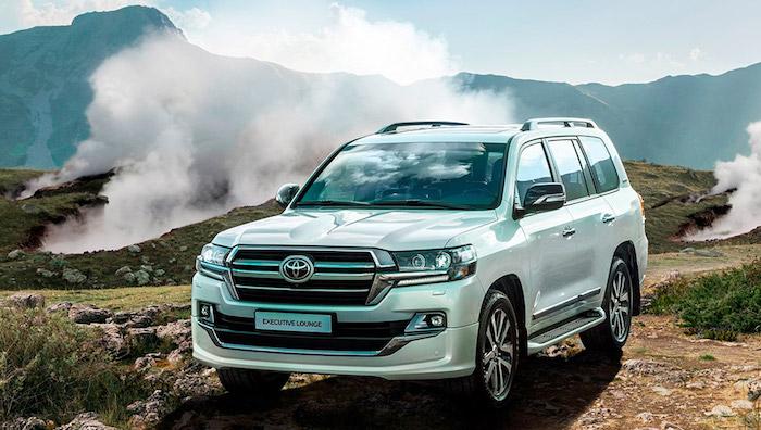 Тойота начала продажи в Российской Федерации самого дорогого Land Cruiser