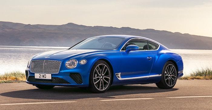 Bentley Continental GT 2018 2019 1 min