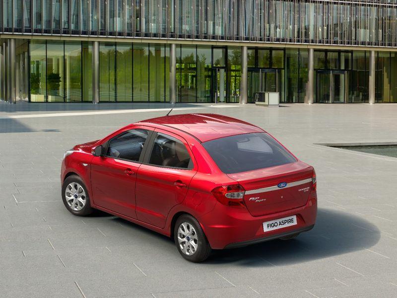 Форд показала новый вариант бюджетного седана Aspire