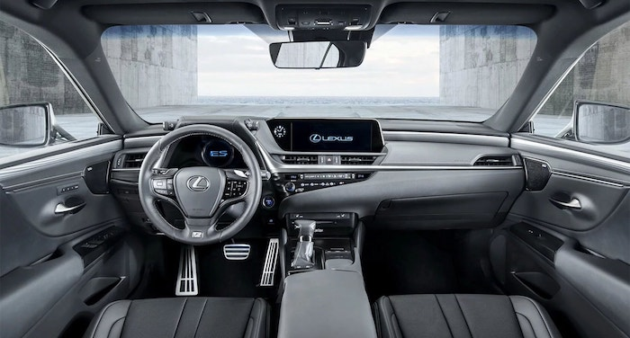 Lexus ES 2018 2019 12 min