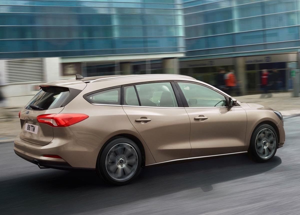 Появились изображения универсала Ford Focus Active