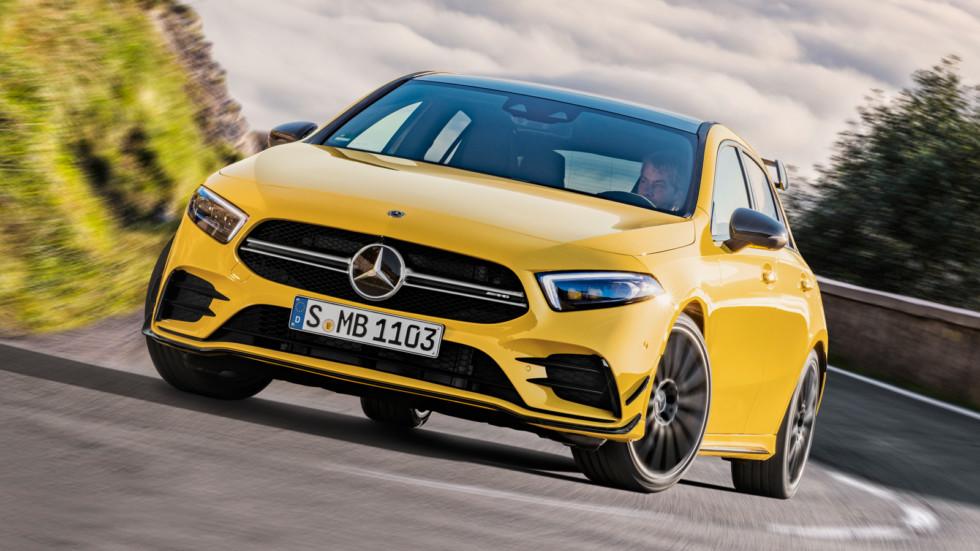 Раскрыты подробности про самый доступный Mercedes-AMG