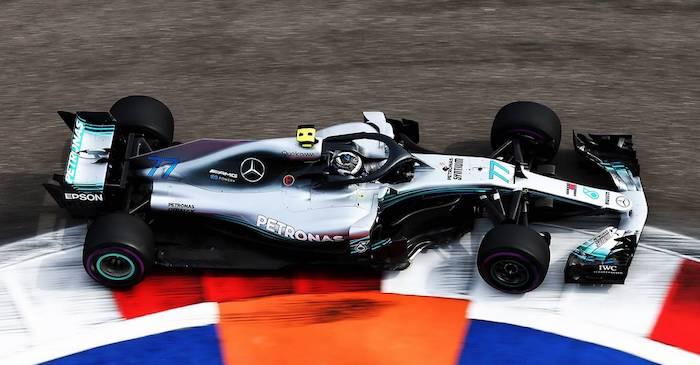 Формула 1. Боттас берет поул в квалификации Гран При России 2018