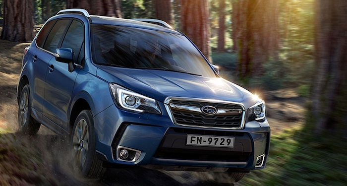 Новый Subaru Forester представят в России 15 сентября