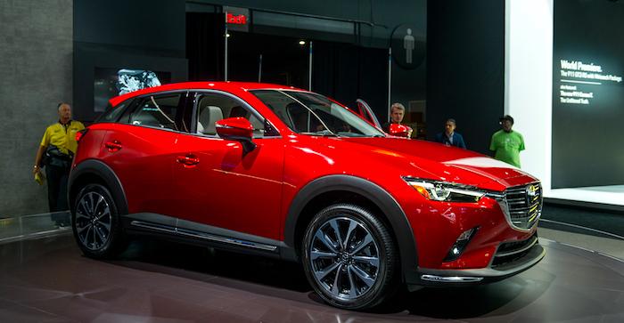 Опубликованы первые подробности о новой Mazda CX-3
