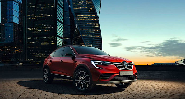 Новый кроссовер Renault Arkana локализуют в РФ на 66%