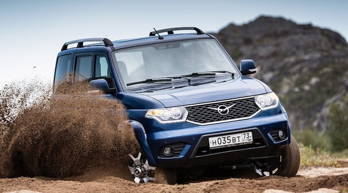 Стартовало производство обновленного УАЗ «Патриот», подорожавшего на 35 тысяч