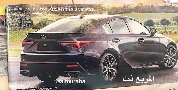 Опубликованы изображения нового поколения Lexus IS