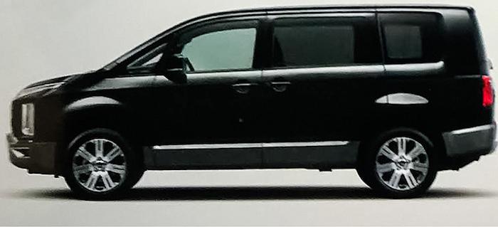 Mitsubishi рассекретила новую Delica до премьеры